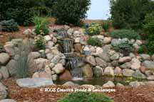 photo of pond & waterfall repair in Woodbury Mn.