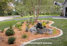 Photo of landscape installation in Minneapolis & St Paul MN