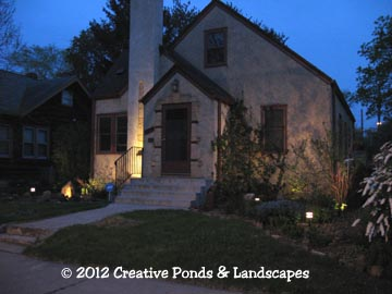 Low Voltage Landscape Lighting in Minneapolis, MN
