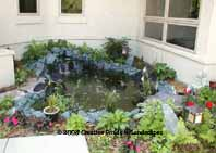 photo of pond & waterfall installation Prior Lake MN. Click to enter gallery