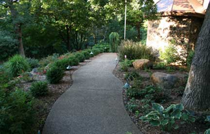 St.Paul, MN. landscaping project
