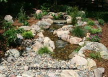 Photo of Pondless waterfall installation in Minneapolis, MN